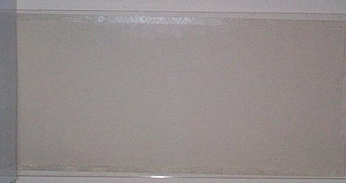 Acrylic Sandblast Window 10″x25″