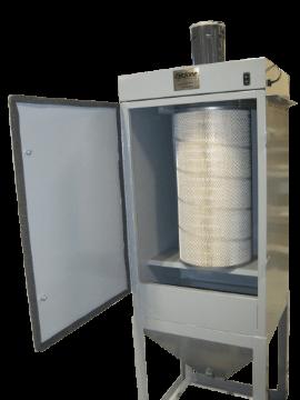 Abrasive Sandblasting Cabinet Dust Collector