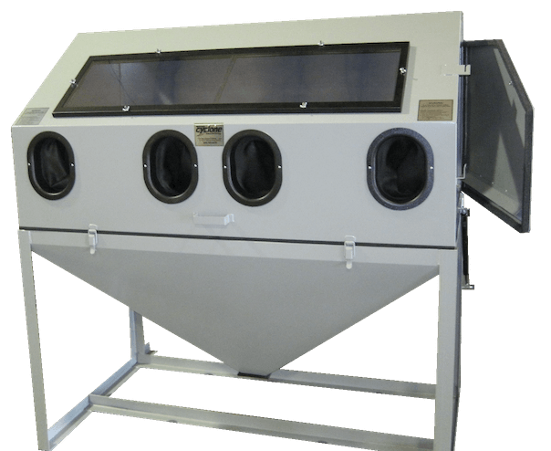 cyclone-dws-6035-abrasive-sandblast-cabinet-closed
