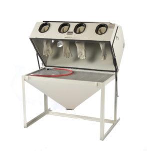 Cyclone DWS 6035 Dual Workstation Abrasive Sandblasting Cabinet