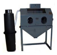 cyclone FT4826 abrasive sandblasting cabinet