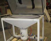 48×26 Direct Pressure Sandblasting Cabinet (Refurbished)