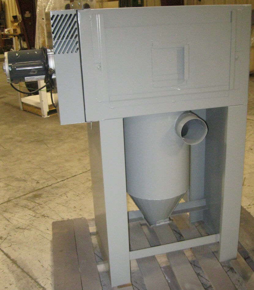 Dust Collector Media Separator Combo Prototype