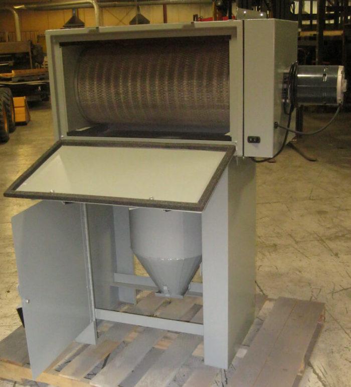 Dust Collector Media Separator Combo Prototype