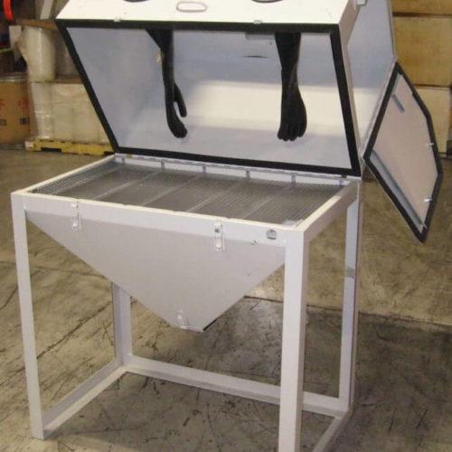 Used Abrasive Sandblaster Cabinet – Model 3824