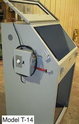 sandblasting machine - cyclone USA