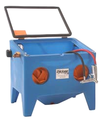 E100 Benchtop Sandblaster