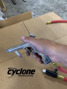 Sandblaster Gun | What is it? How it is used? | Cyclone