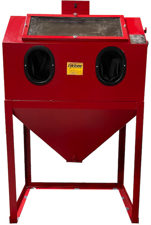 abrasive-blaster-cabinet-front-cyclone-usa