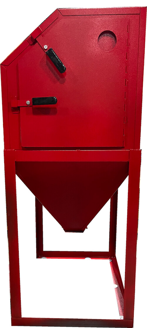 abrasive-blaster-cabinet-side-closed-cyclone-usa