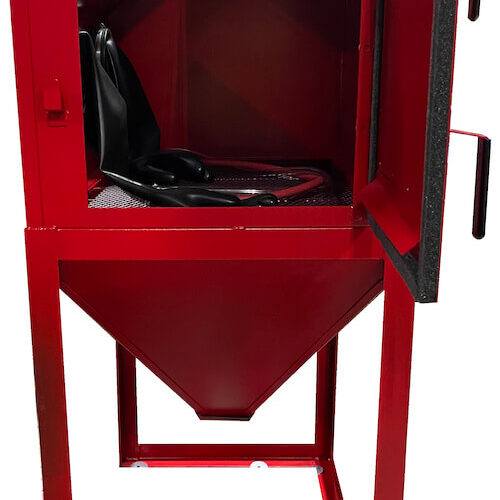 abrasive-blaster-cabinet-side-open-cyclone-usa